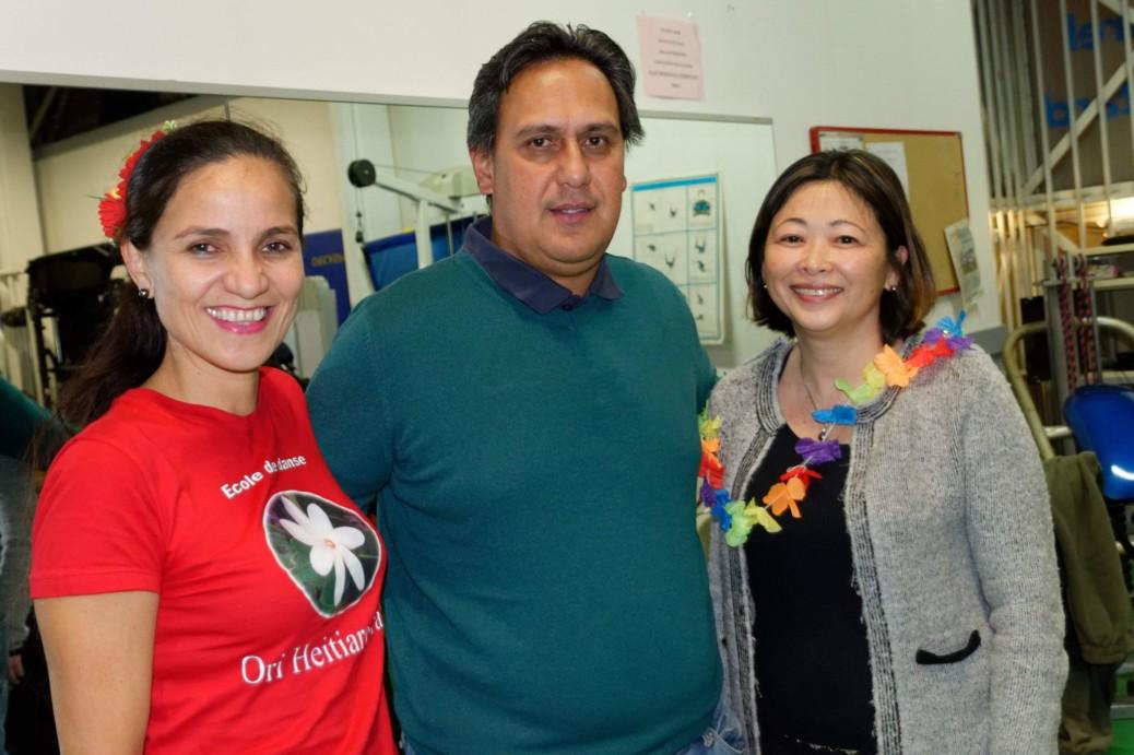Caroline Tang rencontre à Toulouse l'association Ori Heitiare Tahiti
