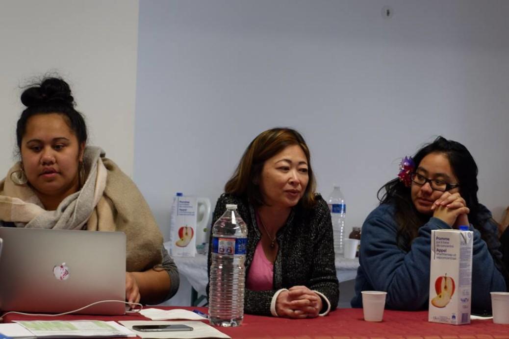 Caroline Tang au CA des étudiants