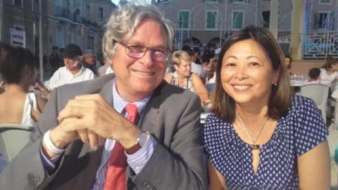 19e édition de la Porquerollaise : Caroline Tang présente à la soirée de la Ville de Carqueiranne