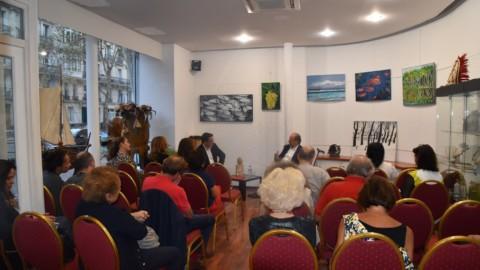 Conversation avec le peintre Bernard Herrmann