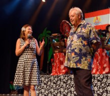 Caroline Tang assiste à la 27e édition de l'Eté Tahitien à Quéven