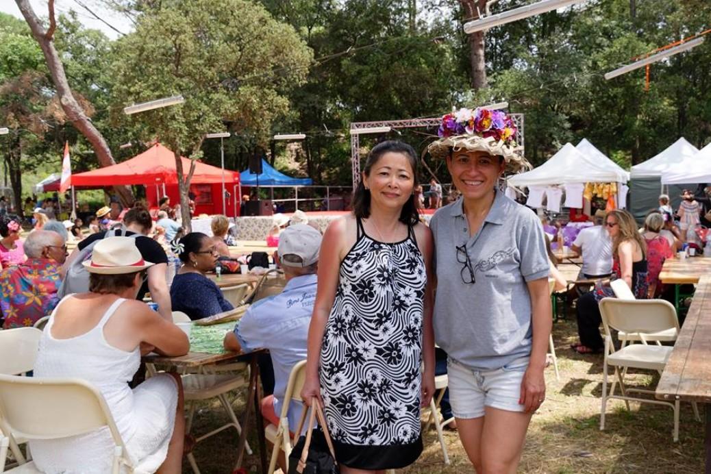 La Déléguée inaugure les Journées culturelles polynésiennes du Muy