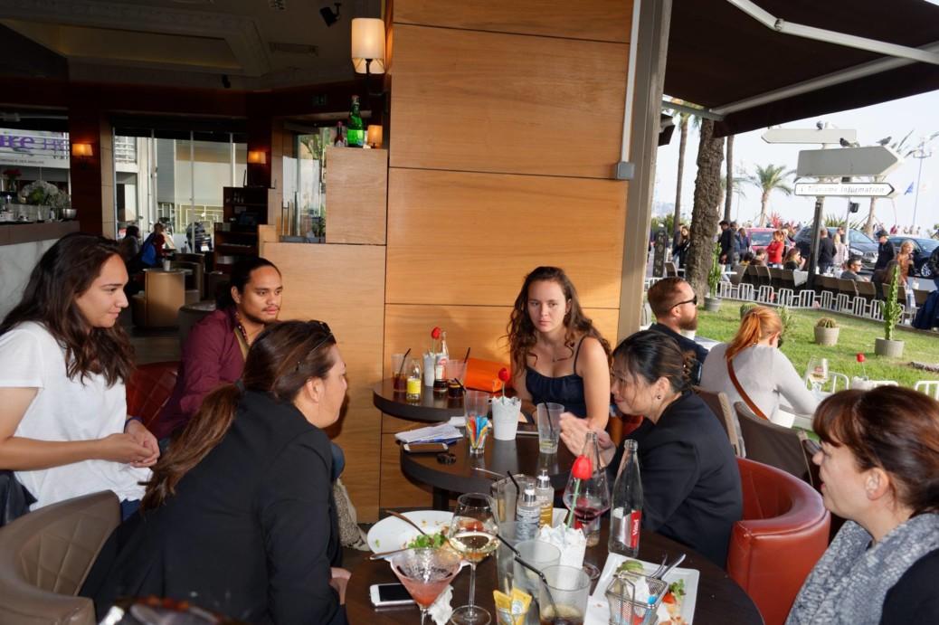 Maina Sage et Caroline Tang à la rencontre de l'AEPF de Nice