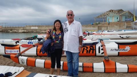Déplacement à Marseille pour assister à la Med Va'a Nui