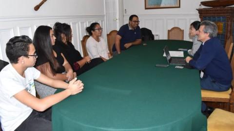 Adoption : la Déléguée reçoit les membres de Te Poe no Patitifi