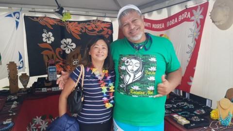 Première étape de la Med Va'a Nui