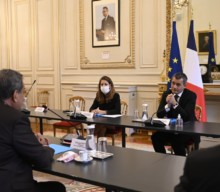 Le président Edouard Fritch reçu par le ministre de l'Intérieur